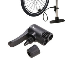 Bicycle Bike Cycle Tyre Tube Replacement Presta Dual Head Air Pump Adapter Valve ciclismo bisiklet aksesuar camping cycling