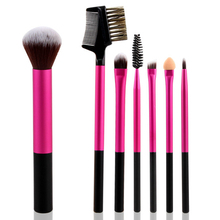 NEW 7PCS Professional Makeup Brushes Set Excellent Makeup Brush Kit Eyeliner Brush For Eyeshadow Face Care