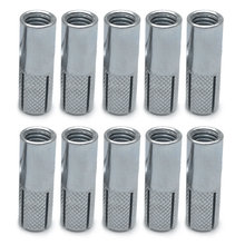 Hot Selling Practical 10pc M6 Galvanized Tube Pipe Expansion Posts Pack Screw 2-34Keys Carbon Steel For Expansion