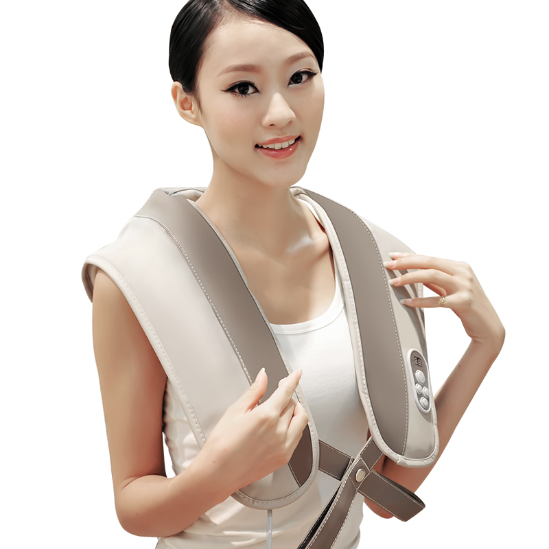 Family massage master For neck and shiatsu back neck shoulder massager body cape cervical massage device neck <br>