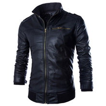 2017 New arrive brand motorcycle leather jackets men,men's leather jacket, jaqueta de couro masculina,mens leather jackets coats