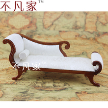 DOLLHOUSE 1/12 SCALE MINIATURE FURNITURE WELL MADE CLASSICAL STYLE ROYAL CHAIR