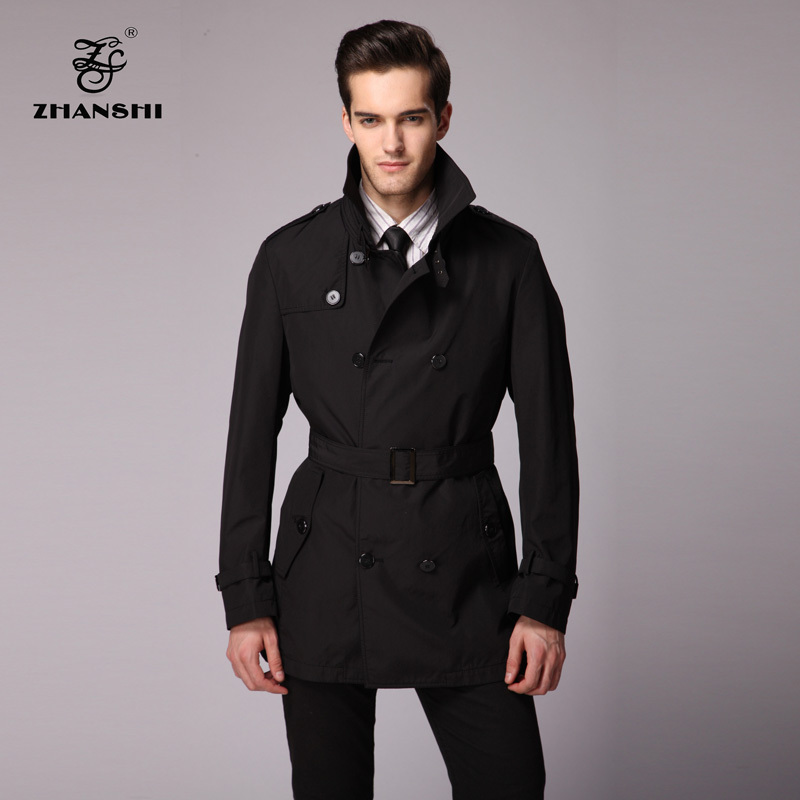 Compare Prices on Black Trench Coat Man- Online Shopping/Buy Low ...