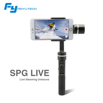 FeiyuTech  SPG LIVE Stabilizer Smartphone Gimbal Which Support Vertical Shooting 360 Degree Panning Axis