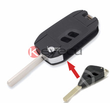 KEYECU FREE SHIPPING BRAND NEW UNCUT REPLACEMENT Modified Folding Remote Key Shell Case 2 Button For Subaru Legacy Outback(China)