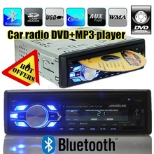 Bluetooth CD DVD car radio player USB SD aux IN 1 din car audio stereo 1 Din Car DVD Player MP3 Radio Stereo Bluetooth Subwoofer