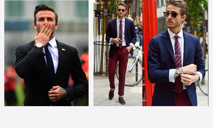 HTB1JncznJqUQKJjSZFIq6AOkFXab - 2017 Men Business Suit Slim fit Classic Male Suits Blazers Luxury Suit Men Two Buttons 2 Pieces(Suit jacket+pants)