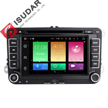 Android 6.0.1 Two Din 7 Inch Car DVD Player For VW/Volkswagen/POLO/PASSAT/Golf/Skoda/Octavia/Seat 4G WIFI GPS Navigation Radio