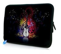 "10"" Guitar Laptop Sleeve Bag Case Cover Pouch For 10.1"" ASUS Eee Pad TF10 Tablet PC,Waterproof,Shockproof"