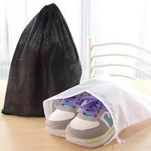 20PCS Thick Non-Woven Travel Shoe Storage Bag Cloth Suit Organizer Bra Case Garment Galocha Packing Cubes Covers(China)