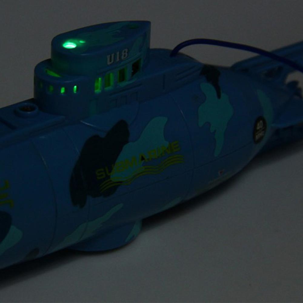 RC Submarine 6 Channels High Speed Radio Remote Control Electric Mini Radio Control Submarine Children Toy Boys Model Toys Gifts 9