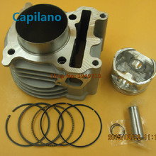motorcycle cylinder kit engine block kit with piston MIO125 for yamaha MIO in modified big bore