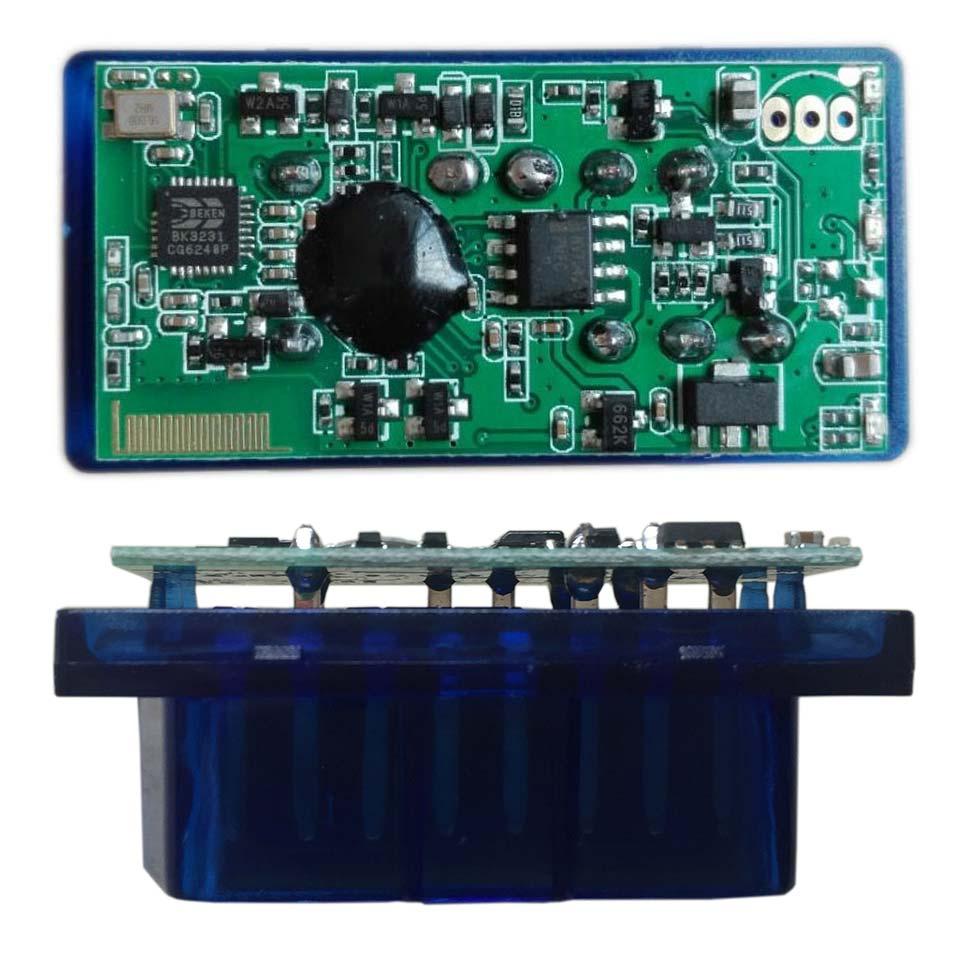 V2.1 ELM 327 OBD2 Elm327 Strumento di scansione per lettore di cavi adattatore Bluetooth (1)