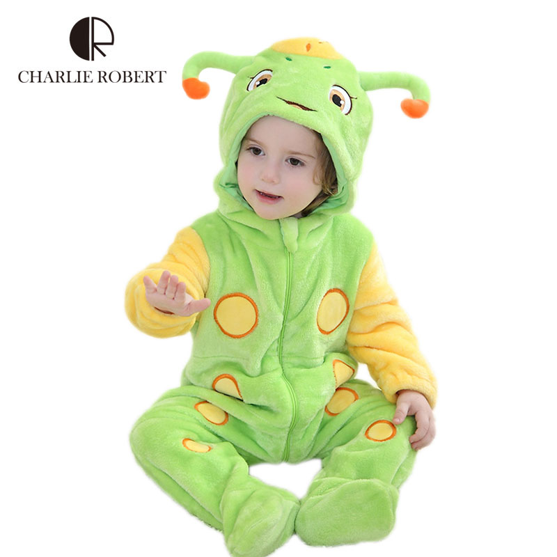 Kawaii Baby Clothing Newborn Bodysuit Baby Girls Costumes Animals Cartoon Boy Bodysuit Flannel Spring Autumn Baby Clothes HK1040<br><br>Aliexpress