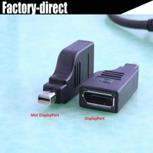 Portable Mini displayport to Displayport cable adapter converter mini dp male to DP female for HP for Dell for apple devices