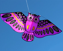 110*50cm Owl Kite With Kite Line Easy To Fly Outdoor Toy For Children 4 Color