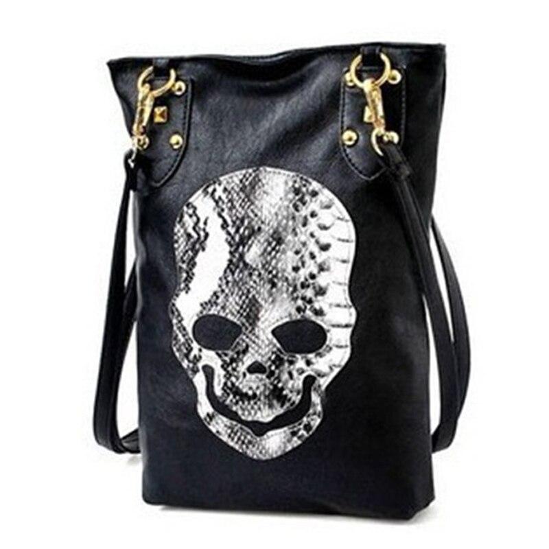 Skull Bag 2017 Black PU Cartoon Bolsa De Festa Famous Designer Purses And Handbags Shoulder Messenger Crossbody Bags For Women<br><br>Aliexpress