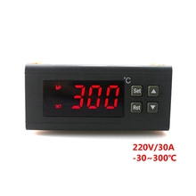 Buy RC-114M Digital Temperature Controller 220V/30A -30~300 C Thermostat Regulator Relay Output NTC Sensor for $15.14 in AliExpress store