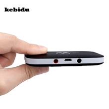 kebidu 2017 2 in 1 Bluetooth 4.1 Audio Transmitter with Receiver Wireless A2DP Bluetooth Audio Adapter Portable Audio Player(China)