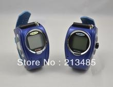Wrist Watch Walkie Talkie I-009 With Adjustable Band(USA:22 Channel,Europe:8 Cahnnels) Free Talker 2Pcs/Pair(China)