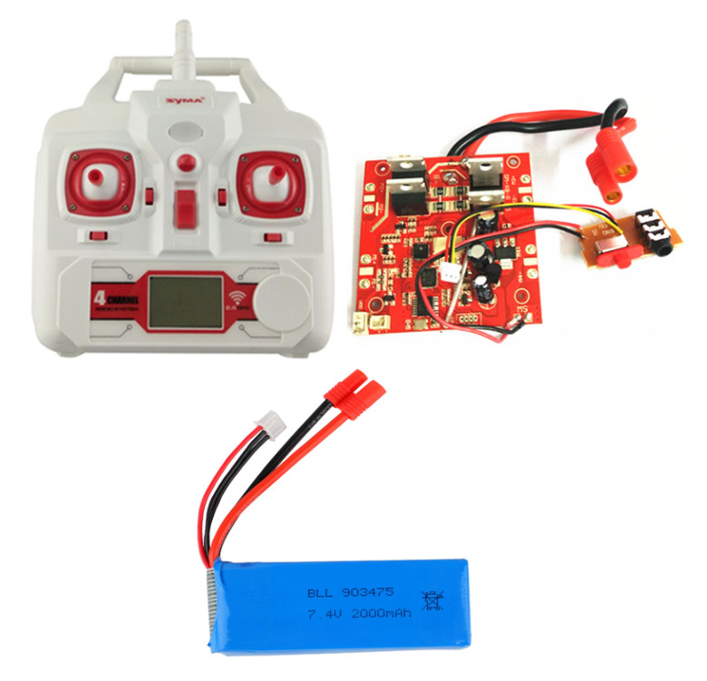 SYMA X8C X8G X8W X8 four axis remote control aircraft parts receiving board battery X8C-21 remote control<br>