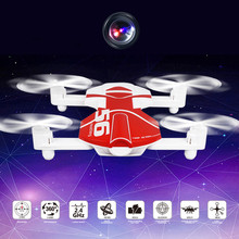 Hiinst RC Drone Foldable With Wifi HD Camera WIFI FPV 2.4G 4CH 6-Axis Gyro Quadcopter Flight Planning Altitude Hold Drone(China)