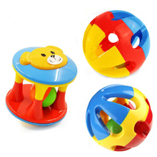 2 PCS Kids Baby Toys for Newborns Baby Rattles Hand Shake Bell Ring Toy Stroller Early Learning Educational Baby Toys 0-12 Month