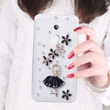 SK HQ girl Crystal Bling Case For Coolpad Torino R108 5.5 inch/Modena 2 E502/Coolpad Porto S E570(China)