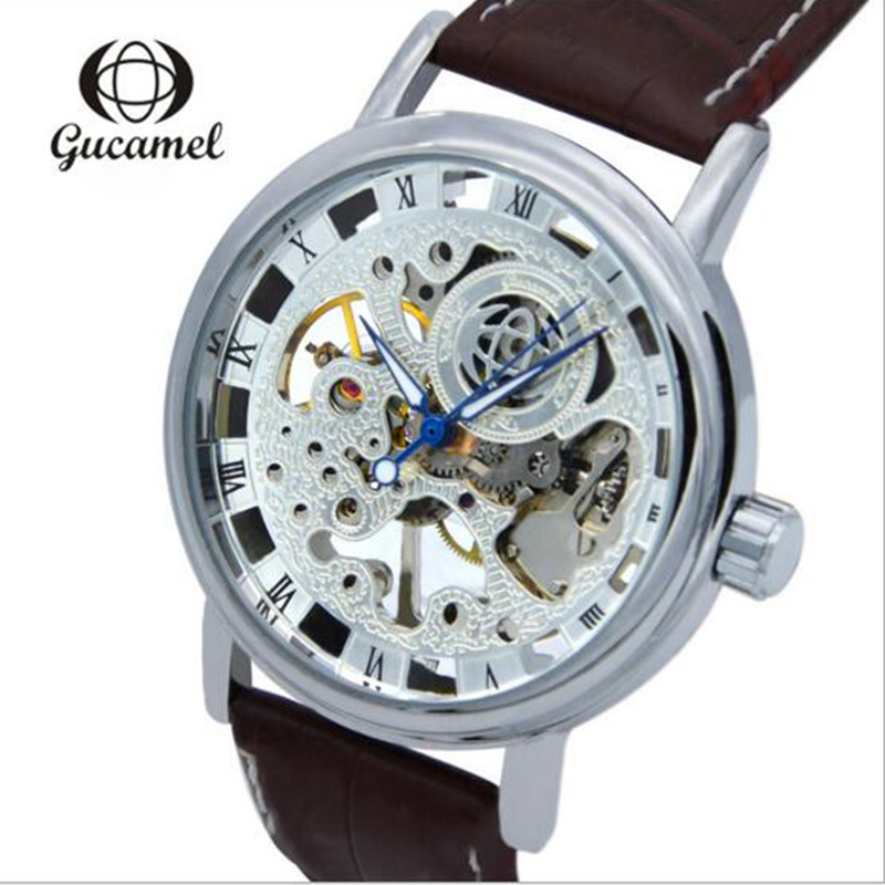 2017 Watches Mens Watch High-End Hollow Watch Fashion Business Leisure Manually Mechanical Watches Relogio Masculino<br><br>Aliexpress