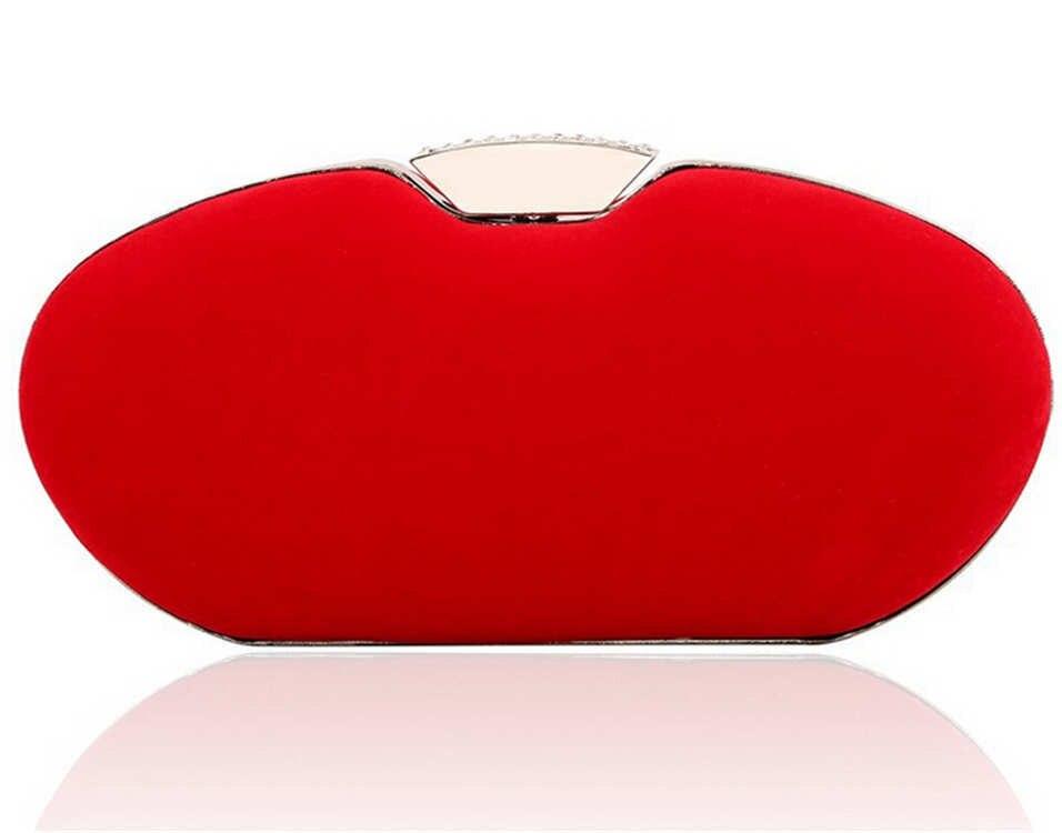 Women Day Clutch Purse Gold Chain Evening Bag Satin Designer Red Evening Purse Mini Bling handbag wallet red bolsas mujer XA360C<br><br>Aliexpress