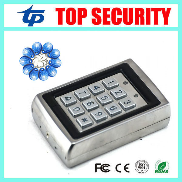 5pcs a lot DHL free shipping standalone RFID card access control system face waterproof 1000 users door metal access controller<br>