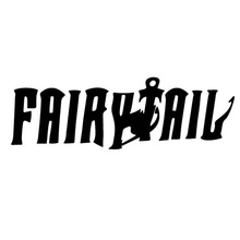 19*6CM FAIRY TAIL Anime Funny Car Sticker Decal Sticker Text Reflective Cover Scratches Car Body Stickers CT-321