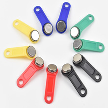 10pcs/lot rewritable RFID Touch Memory key, RW1990 iButton,copy card, Sauna dallas key