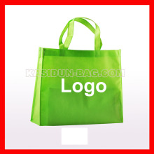 (1000pcs/lot) custom logo Polypropylene non woven reusable shopping eco bag
