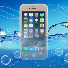 i6 i6s Fashion Waterproof Swim Diving Case For iphone 5 5s SE 6 6S 6 Plus Clear Protective Front & Back TPU Cover Accessories