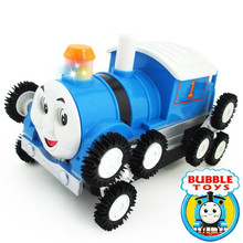 Thomas Electric Toys Vehicles 12 Wheel Stunt Cars Rotary Electric Car Children's Toy Diecasts Vehicle