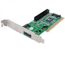 3 ports SATA + IDE Serial HDD ATA PCI Card Converter Adapter for PC Tablet Computer 1.5Gb/s Data Rate