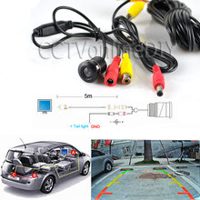 Car Vehicle Color Rear View Back up Camera 420TVL CMOS 6 Meter Cable