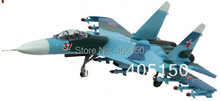 1:72 Static Plane Su37 Blue Camo Jet Fighter for Hobby Collection Free Shipping