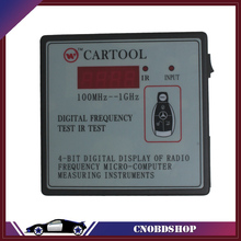 Car IR Infrared Remote Key Frequency Tester (Frequency Range 100-500MHZ) Remote Control Digital Frequency Test CARTOOL