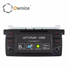 Ownice C500 Android 6.0 Octa 8 Core for bmw E46 M3 car dvd gps navi wifi 4G BT Radio RDS 2GB RAM 32GB ROM support DAB+ TPMS(China)