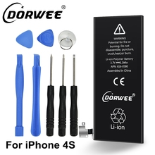 DORWEE New 1430mAh internal replacement 3.7V Li-ion battery for iPhone 4S GSM/CDMA + Free Tools(China)