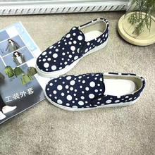 GXLLD Hot Sale Shoes Women Flats shoes leather fabric pattern Waterproof Cute Women Flats Round Toe Flat(China)