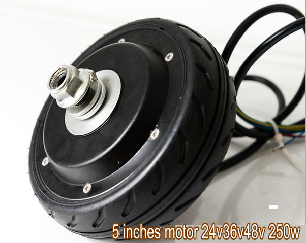 5 inches motor for scooter 24v-48v 250w