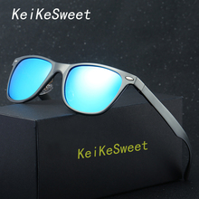 KeiKeSweet Hot Fashion Men Women Driving Car HD Polarized Rivet UV400 Rayed Sunglasses Flexible Brand Designer Ce Sun Glasses(China)