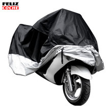 All Size Motorcycle Cover Waterproof Outdoor Uv Protector Bike Rain Dustproof Motorbike Motor Scooter M/L/XL/XXL/3XL/4XL A2123(China)