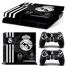 New Vinyl For football team PS4 Sticker For Sony Playstation4 Console+ controller Skin Sticker For PS4 Skin Free Shopping