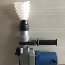 Drill Dust Collector White Rubber Dust Cover Electric Hammer Drill Dust Cover Electric Drill Power Tool Accessories(China)