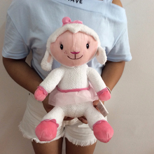 Original Doc McStuffins Toy Plush 35cm 13.77'' Doc McStuffins Lambie sheep soft plush animals dolls for kids&baby gift