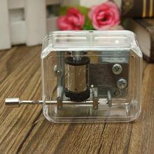 Excellent Fair-sounding Antique Mechanical Music Box Unique Valentine Gift City of Sky/Canon/For Elise